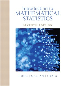 Book Introduction To Mathematical Statistics by Robert V. Hogg
