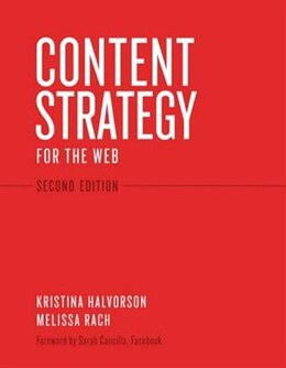 Book Content Strategy for the Web by Kristina Halvorson