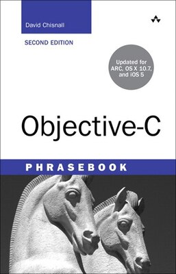 Book Objective-c Phrasebook by David Chisnall