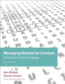 Book Managing Enterprise Content: A Unified Content Strategy by Ann Rockley