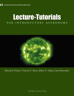 Book Lecture- Tutorials for Introductory Astronomy by Edward E. Prather