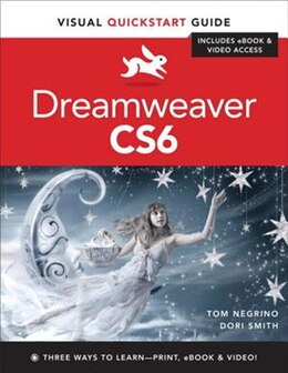 Book Dreamweaver Cs6: Visual Quickstart Guide by Tom Negrino