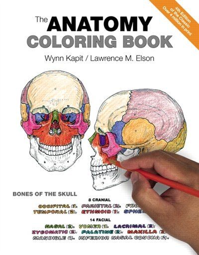 The Anatomy Coloring Book by Wynn Kapit