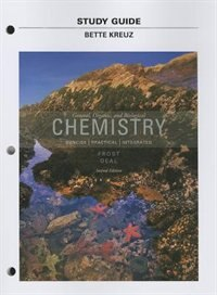 Book Study Guide For General, Organic, And Biological Chemistry by Laura D. Frost