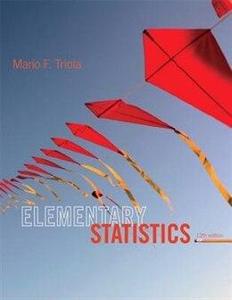 Book Elementary Statistics by Mario F. Triola