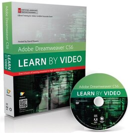 Book Adobe Dreamweaver Cs6: Learn By Video: Core Training In Web Communication by . Video2brain