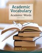 Academic Vocabulary: Academic Words Plus Myreadinglab -- Access Card Package