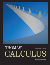 Thomas' Calculus: Multivariable