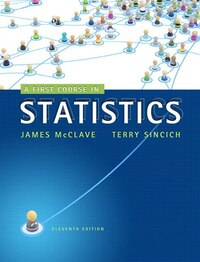 First Course In Statistics, A,  Plus Mystatlab With Pearson Etext -- Access Card Package