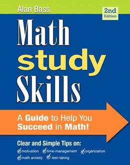 Book Math Study Skills by Alan Bass