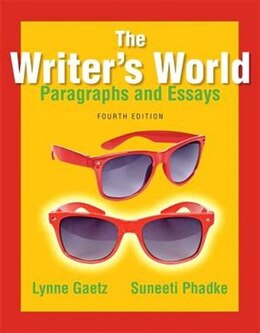 Book The Writer's World: Paragraphs And Essays by Lynne Gaetz