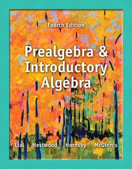 Book Prealgebra And Introductory Algebra Plus New Mymathlab With Pearson Etext -- Access Card Package by Margaret L. Lial