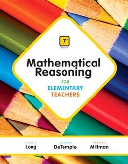 Book Mathematical Reasoning For Elementary Teachers by Calvin Long