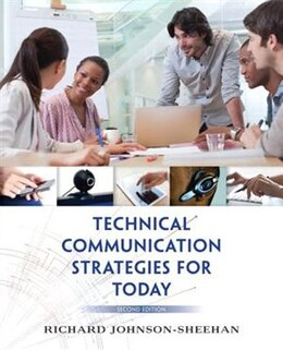 Book Technical Communication Strategies For Today by Richard Johnson-sheehan