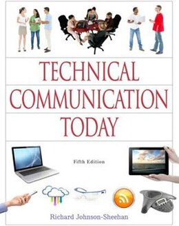 Book Technical Communication Today by Richard Johnson-sheehan