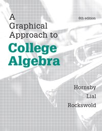 Graphical Approach To College Algebra, A,  Plus New Mymathlab -- Access Card Package