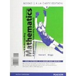 Book Using And Understanding Mathematics, Books A La Carte Edition by Jeffrey O. Bennett