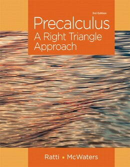 Book Precalculus: A Right Triangle Approach Plus New Mymathlab With Pearson Etext -- Access Card Package by J. S. Ratti