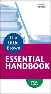 Book Little, Brown Essential Handbook by Jane E. Aaron