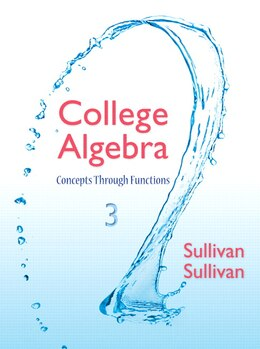 Book College Algebra: Concepts Through Functions by Michael Sullivan