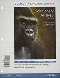 Evolutionary Analysis, Books A La Carte Edition