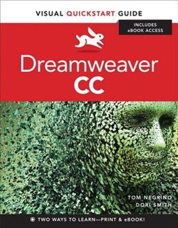 Book Dreamweaver CC: Visual QuickStart Guide by Tom Negrino