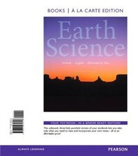 Earth Science, Books A La Carte Edition