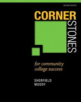 Book Cornerstones For Community College Success Plus New Mystudentsuccesslab  Update -- Access Card… by Robert M. Sherfield
