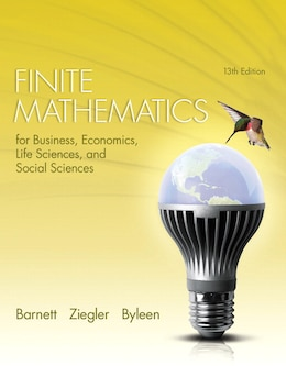 Book Finite Mathematics For Business, Economics, Life Sciences And Social Sciences Plus New Mymathlab… by Raymond A. Barnett