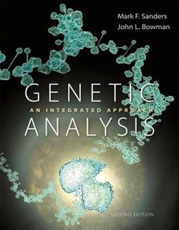 Book Genetic Analysis: An Integrated Approach by Mark F. Sanders