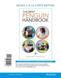 Book The Brief Penguin Handbook, Books A La Carte Edition by Lester Faigley