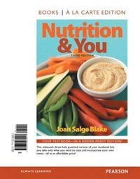 Nutrition & You, Books A La Carte Edition