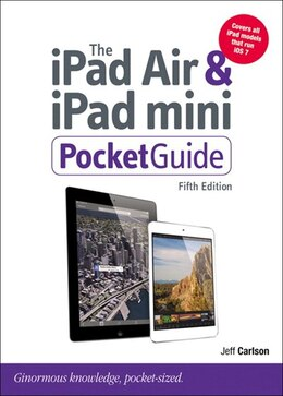 Book The Ipad Air And Ipad Mini Pocket Guide by Jeff Carlson