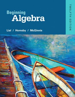 Book Beginning Algebra by Margaret L. Lial