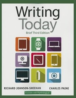 Book Writing Today, Brief Edition by Richard Johnson-sheehan
