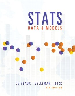 Book Stats: Data And Models by Richard D. De Veaux