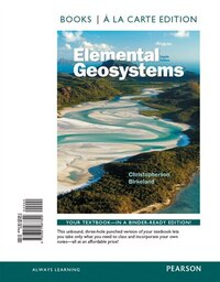 Elemental Geosystems, Books A La Carte Edition