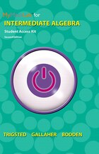 Mymathlab Ecourse For Trigsted/gallaher/bodden Intermediate Algebra -- Access Card