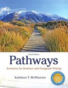 Pathways: Scenarios For Sentence And Paragraph Writing Plus Mywritinglab With Pearson Etext…