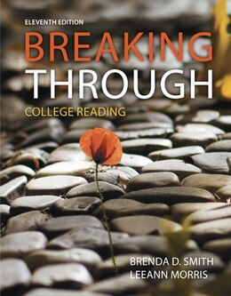 Book Breaking Through: College Reading by Brenda D. Smith