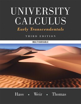 Book University Calculus, Early Transcendentals,  Multivariable Plus Mymathlab -- Access Card Package by Joel R. Hass