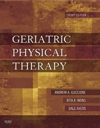 Book Geriatric Physical Therapy by Andrew A. Guccione
