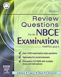 Book Mosby's Review Questions for the NBCE Examination: Parts I and II by Claire Mosby