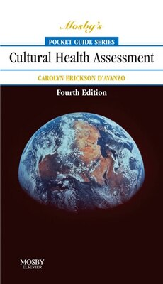 Book Mosby's Pocket Guide to Cultural Health Assessment by Carolyn D'avanzo