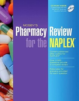 Book Mosby's Pharmacy Review For The Naplex by Mosby