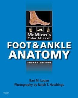 Book McMinn's Color Atlas of Foot and Ankle Anatomy by Bari M. Logan