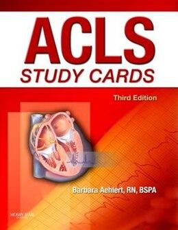 Book Acls Study Cards by Barbara J Aehlert