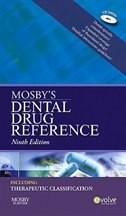 Book Mosby's Dental Drug Reference by Arthur H. Mosby