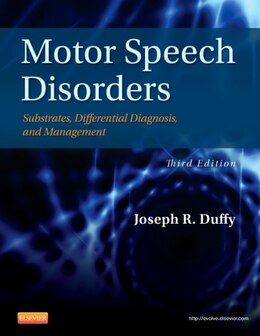 Book Motor Speech Disorders: Substrates, Differential Diagnosis, And Management by Joseph R. Duffy