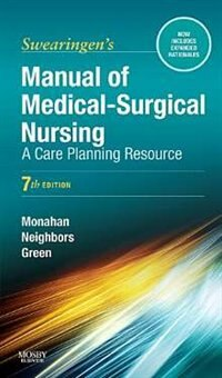 Book Manual of Medical-Surgical Nursing: A Care Planning Resource by Frances Donovan Monahan
